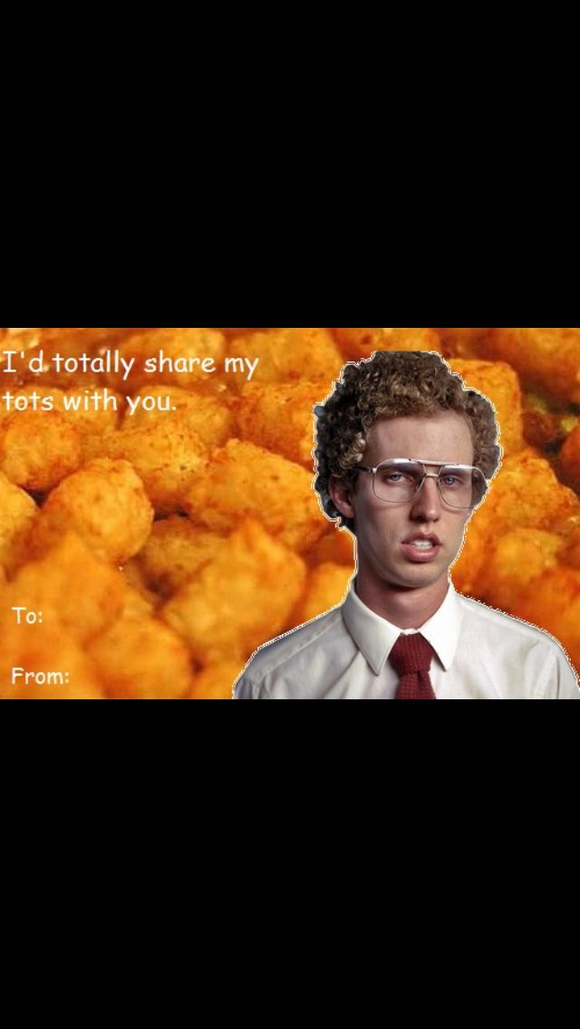 Napolean Dynamite Valentines Day Card