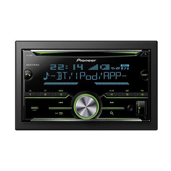 Pioneer FH-X730BT Dupla DIN Bluetooth autóhifi fejegység #mobilzene, #pioneer, #fejegység, #2din, #bluetooth, #cd