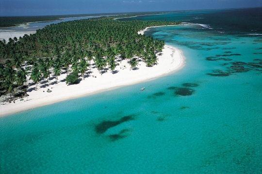 Direction l'île Saona
