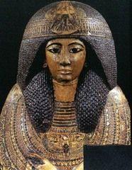 Predynastic Egypt Female Figurines   Egyptian, New Kingdom, Outer Coffin of Natsef-Amun , c. 1400 BCE Head ...