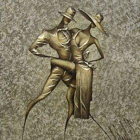 Картина Танец . Интерьерная живопись. Ковалев Сергей.: