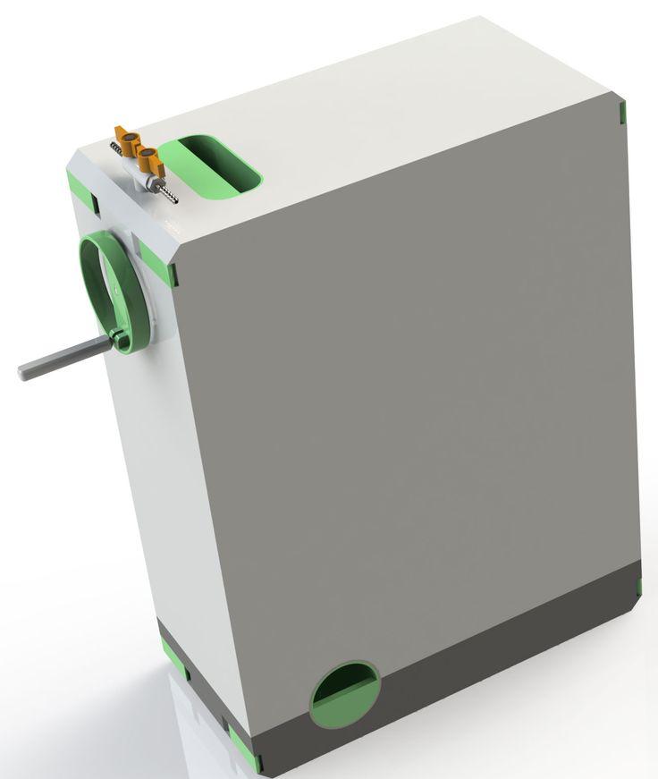 Mini-Biogasanlage von Gavin Redman