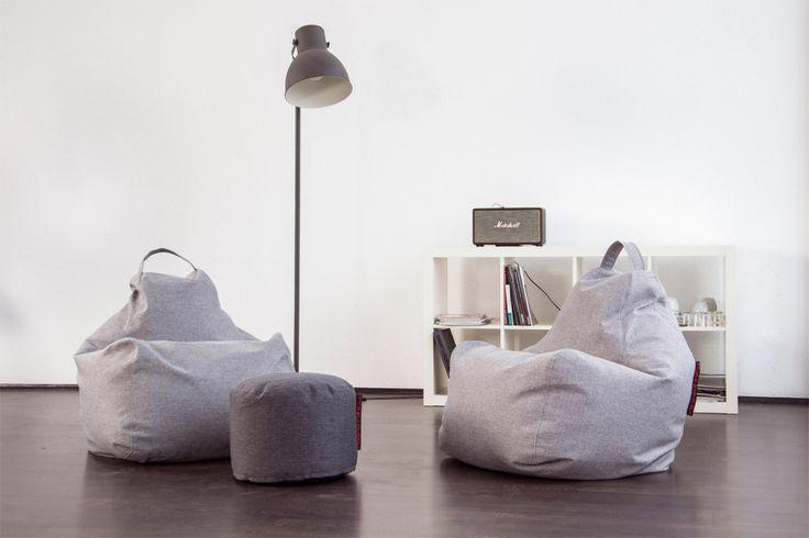 Bean bags for stylish look of your interior!  Sitzsack für innen und außen günstig online kaufen!