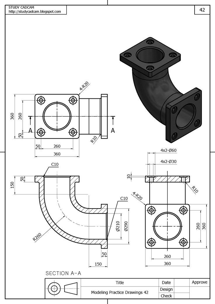 Best 295 Mechanical drawings / Blueprints / CAD Drawings