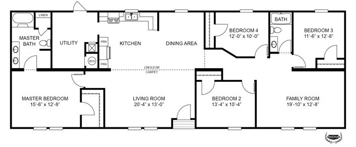 Mobile Home Floor Plans moreover 8 besides Double Wide Mobile Homes further Clayton Mobile Home Floor Plans Single Wides further Double Wide Mobile Home Floor Plans. on single wide mobile home floor plans in ny