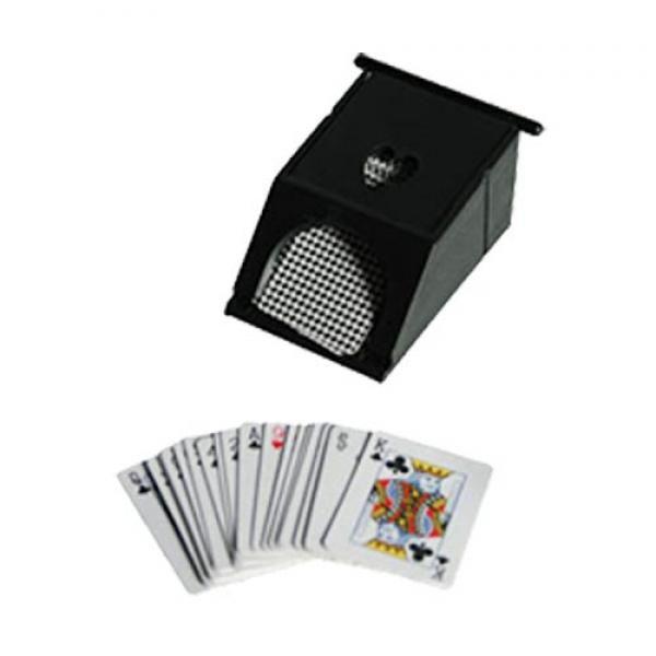 ComprarJuego de Mesa Mini Blackjack al mejor precio. Te presentamos una amplia gama de juegos de mesa con la que podrás disfrutar en cualquier lugar, dado el poco espacio que ocupan. Podrás llevarlos siempre contigo en los viajes que realices. Tus amigos estarán encantados de echarse una partida de cartas.Características del set de juego:Incluye mesa de juego con tapeteMini-baraja de cartasBolsa con mini-fichas numeradas y rastrilloDispensador de cartasMedidas del tablero: 26 x 17 cm