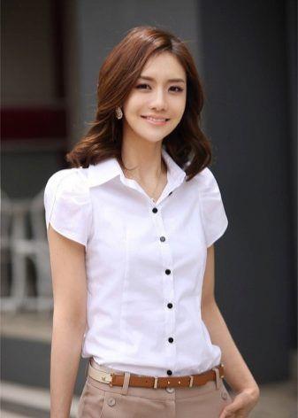Модели блузок (176 фото): с длинным рукавом, коротким и без рукавов, трикотажные, из хлопка, шелка, шифона, летние 1