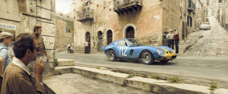 Ferrari 250 GTO 1. Company recreates racing moments.