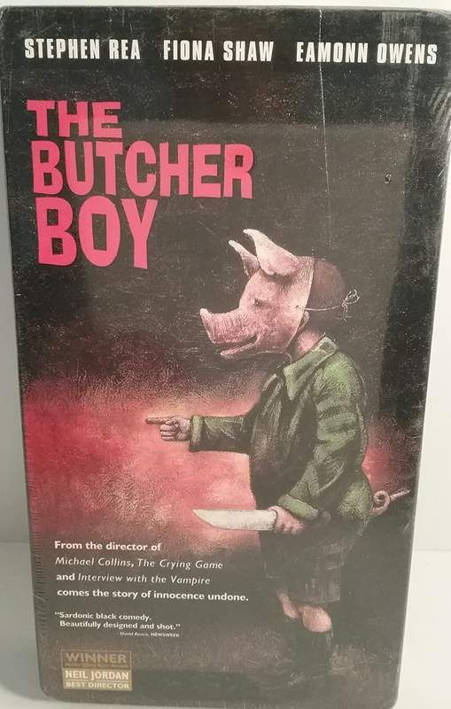 You can't write off Francie Brady, apple-cheeked hero ofThe Butcher Boy, as a bad seed and have done with him. Exuberant Francie (Eamonn Owens, making a splendid debut) is a thorn in the side of rural Irish repression and hypocrisy.   eBay!