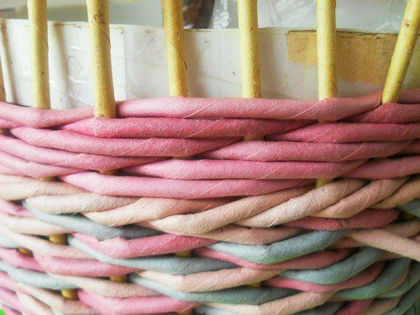 фото мк. как я плету ситцевое три через одну | 7 photos | VK
