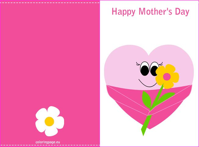 Best MotherS Day Images On   Flower Template