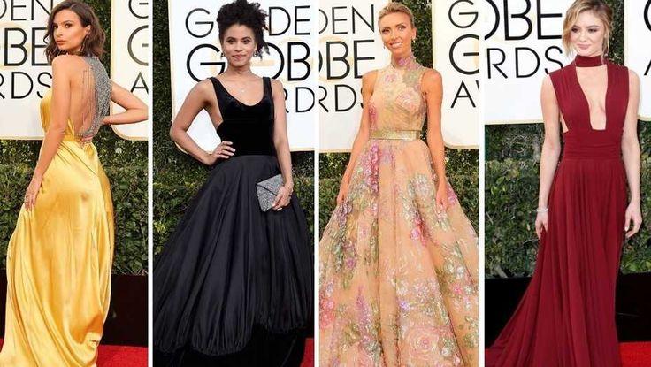 Globos de Oro 2017: todos los looks de la alfombra roja