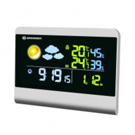 Bresser TemeoTrend Color rc meteorologická stanice šedá