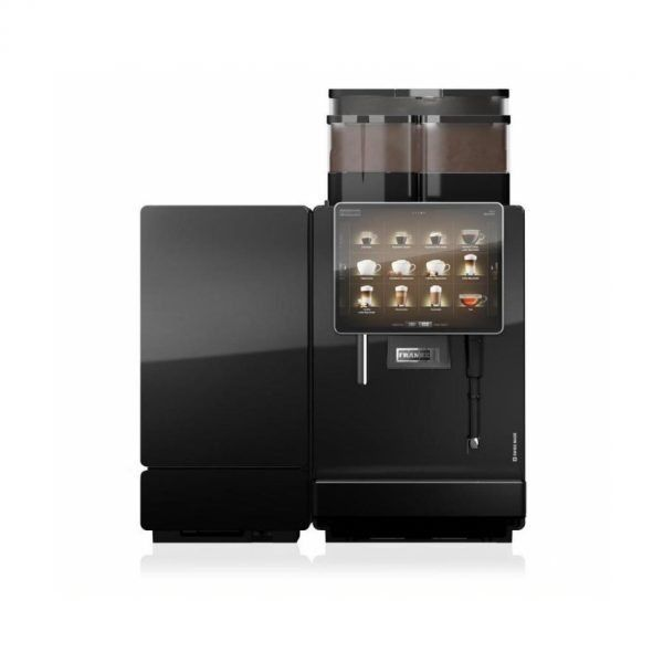 The FRANKE A800 coffee machine has a triple boiler system and an intuitive operating concept, the Franke A800 Coffee Machine is designed to quickly handle large order quantities. In the hands of a seasoned operator, it delivers top performance and can fulfil every coffee & beverage combination you can think of, want or need.    #Coffee4Business #OfficeCoffee #CoffeeMachine #Coffee   #CorporateCoffee #CorporateCoffeeSolutions
