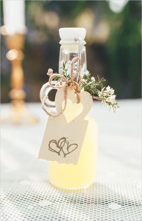 wedding lemoade favor @weddingchicks