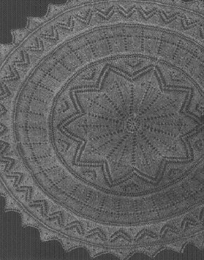 Double Star Doily Free Pattern From Yarn Lover S Room Knitting