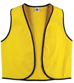 Promotional Products Ideas That Work: Twill Supermarket Vest. Made in Canada. Get yours at www.luscangroup.com