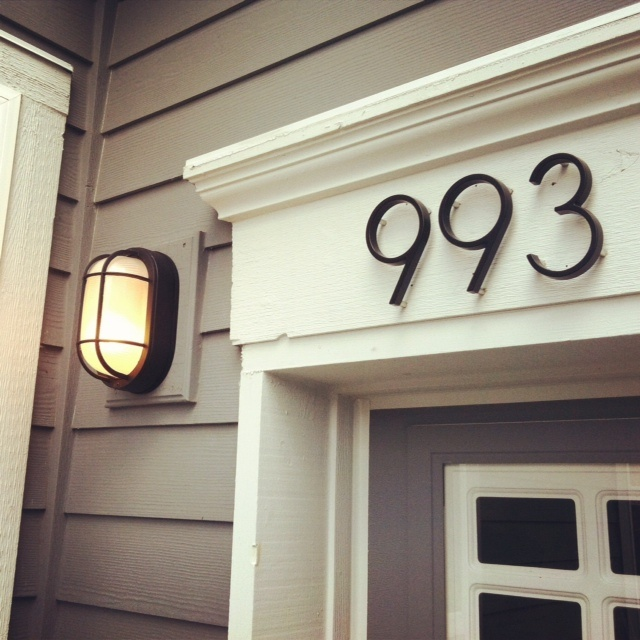 1000 Ideas About Large House Numbers On Pinterest Large Houses House Numbers And Address Plaque