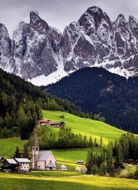 #scenery #winter #mountains #sky #beauty #house