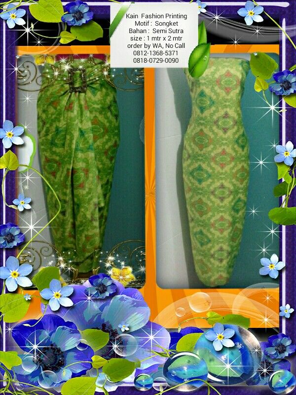 Kain Fashion Ket & Order : Lihat di foto
