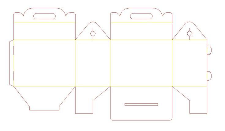Box Happymeal2 Jpg 1 059 615 Pixels Cajas Coser Bolsas