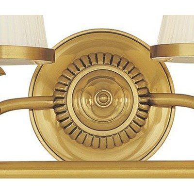 """Hudson Valley Lighting 2004-FB / 2004-OB / 2004-PN Milton Vanity Light Finish: Flemish Brass by Hudson Valley Lighting. $500.00. Hudson Valley Lighting 2004-FB / 2004-OB / 2004-PN Features: -Four light bathroom vanity light. -Milton Collection. -Available in flemish brass, old bronze, and polished nickel finishes. Specifications: -Accommodates: 4x100W medium base bulbs (not included). -Backplate dimensions: 5.5"""" Dia.. -Overall dimensions: 9""""H x 34""""W x 8.75""""E. Finish: Fl..."""