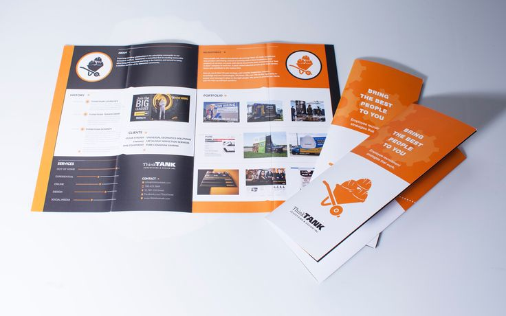 ThinkTANK's own brochures for Recruitment Strategies are both informative and memorable.  #recruitment #recruitmentmarketing #recruitmentstrategy