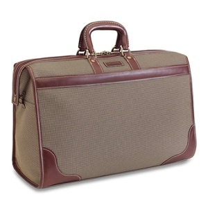 Hartmann Valise: great weekend bag with a timeless look.  i have two wheeled upright bags from the same line