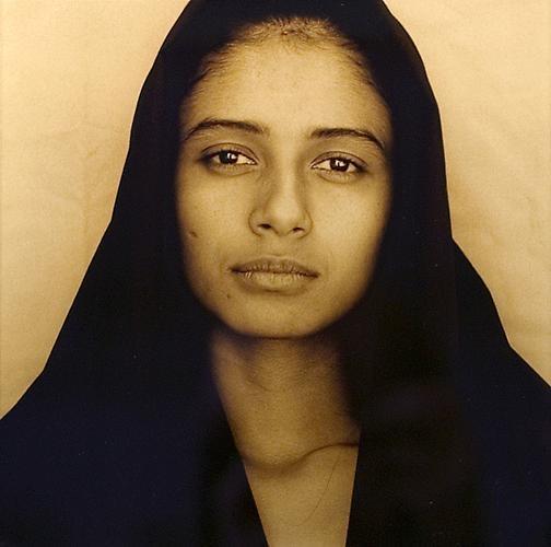 Luis Gonzales-Palma:Portrait I, 1998, printed 2004, gold-toned print