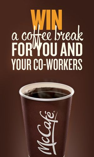 Win a Coffee Break for You and Your Coworkers
