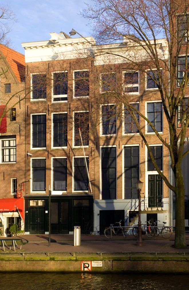 Casa de Anne Frank é hoje o museu mais visitado da Holanda. | Wikimedia Commons