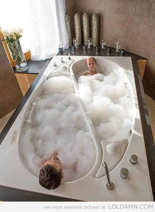 The perfect bathtub…