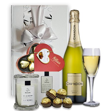 Gifts For Women | Champagne & Chocolates By Candlelight $109