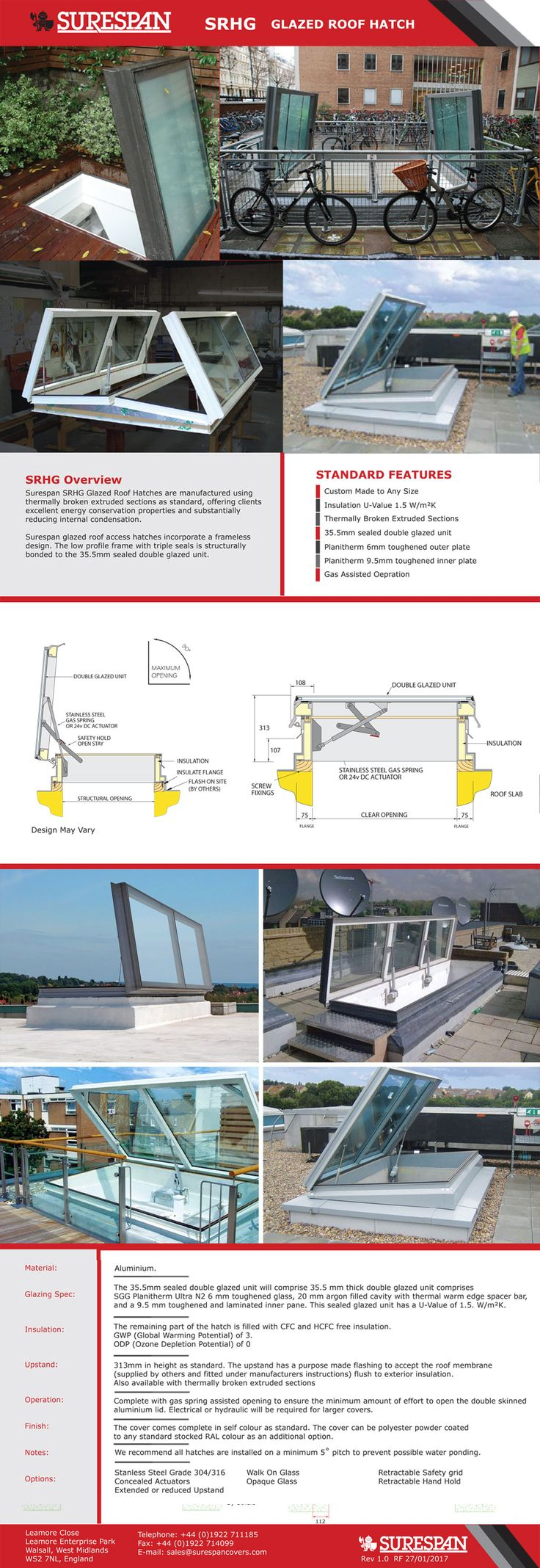 Home roof access glazed roof hatch glazed roof hatch - This Is What You Need To Know About Surespan Glazed Roof Access Hatches And Rooflights Http