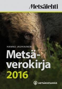 Kuvaus: Kirja käsittelee yleisiä vero-ohjeita tarkemmin metsään liittyvät verotuskysymykset. Vuosittain vaihtuvat taksat sekä korvausten ja vähennysten enimmäismäärät ovat kirjassa ajantasaisina. Vuosikatsaus kokoaa edellisen vuoden metsätaloudelliset tapahtumat ja päälinjat.