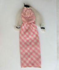 Barbie 1971 quick curl #4420 - robe-vintage poupées vêtements affranchissement rabais