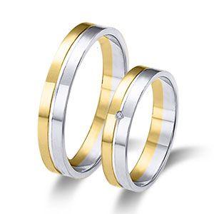 Wedding ring- Wedding band 18k or 9k solid white and yellow gold.  www.niobejoyas.com Alianzas de boda en oro blanco y oro amarillo.