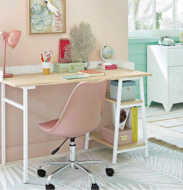 Chaise De Bureau Scandinave Selection Des Plus Beaux Modeles En 2020 Chaise Bureau Decoration Chambre Ado Bureau Scandinave