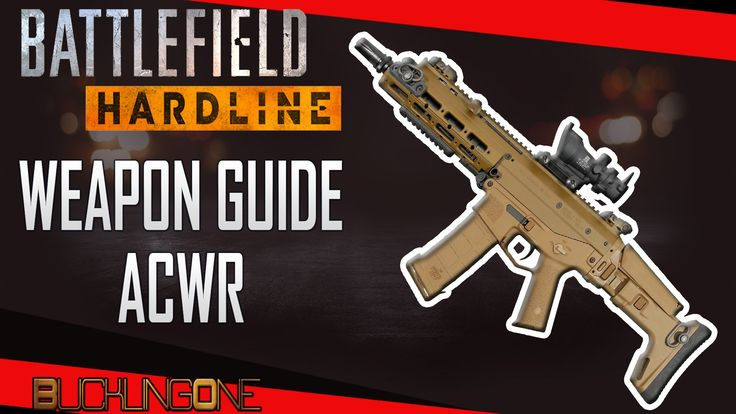 A look at the ACWR in Battlefield Hardline. The first episode in my series of Weapon Guides for Hardline. A versatile weapon that is great all-round, perfect for beginners and also great for seasoned pro's.   View the playlist here: https://www.youtube.com/playlist?list=PL6AbW5HRaW-bcge1kg85-uIJtiWCZR9T7
