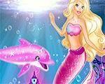 Em Cuide do Golfinho da Barbie, Barbie é uma linda sereia e tem um golfinho com seu pet favorito. Mas hoje ele está muito sujo e Barbie precisa de sua ajuda para limpar e cuidar dele. Divirta-se com Barbie!