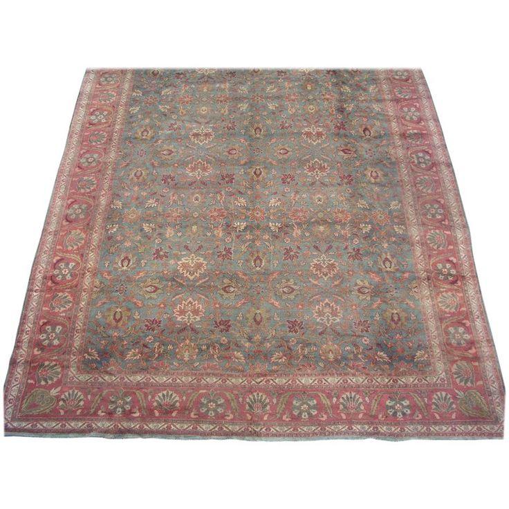 Deep Burgundy Indian Agra Rug For Sale At 1stdibs: Antique Persian Circa 1920 Iranian