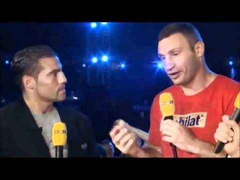 Vitali Klitschko vs. Manuel Charr, das erste öffentliche Aufeinandertreffen [Moskau 08.09.2012] - Boxen.com.de - Boxen Live Stream - Das Sport Video Portal für Amateurboxer von Amateurboxer - Sport Live
