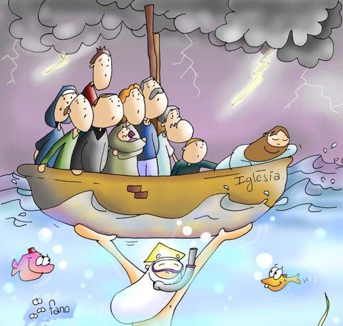 El Señor sostiene a su Iglesia. No temáis.