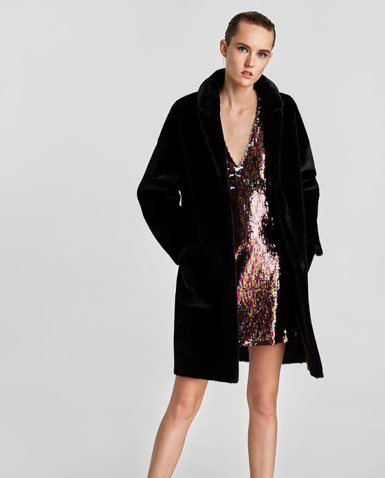 Image 2 of FAUX FUR COAT from Zara  61ec4c0dfff