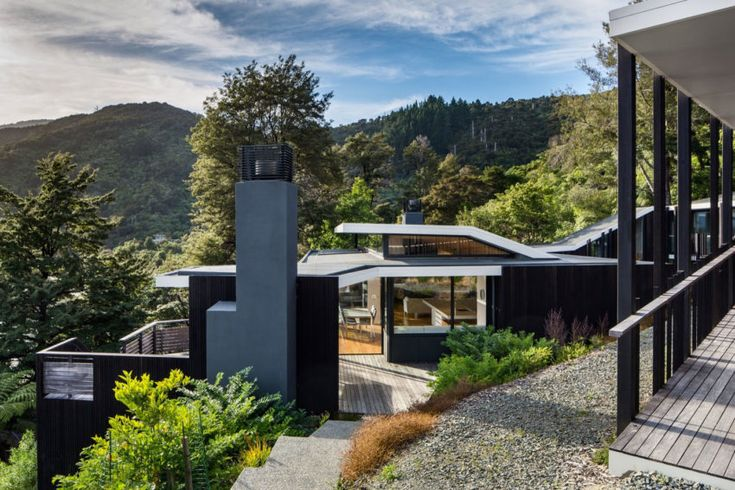 Parsonson Architects Design a Stunning Contemporary Home in Marlborough, New Zealand