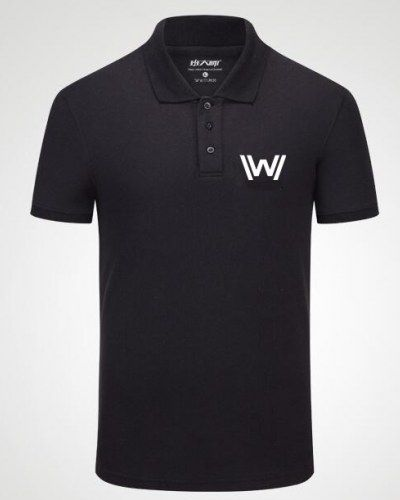 Tv series Westworld polo shirts short sleeve for fans