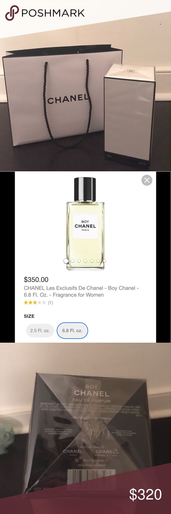BOY CHANEL 6.8 Fl. Oz. - Les Exclusifs De Chanel MSRP: $350 + Tax | Brand New | Come with Bag CHANEL Makeup