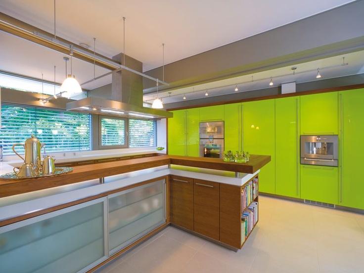 Die besten 25+ Grüner farbakzent Ideen auf Pinterest In grün - idee fur haus renovieren grune akzente modernen raum
