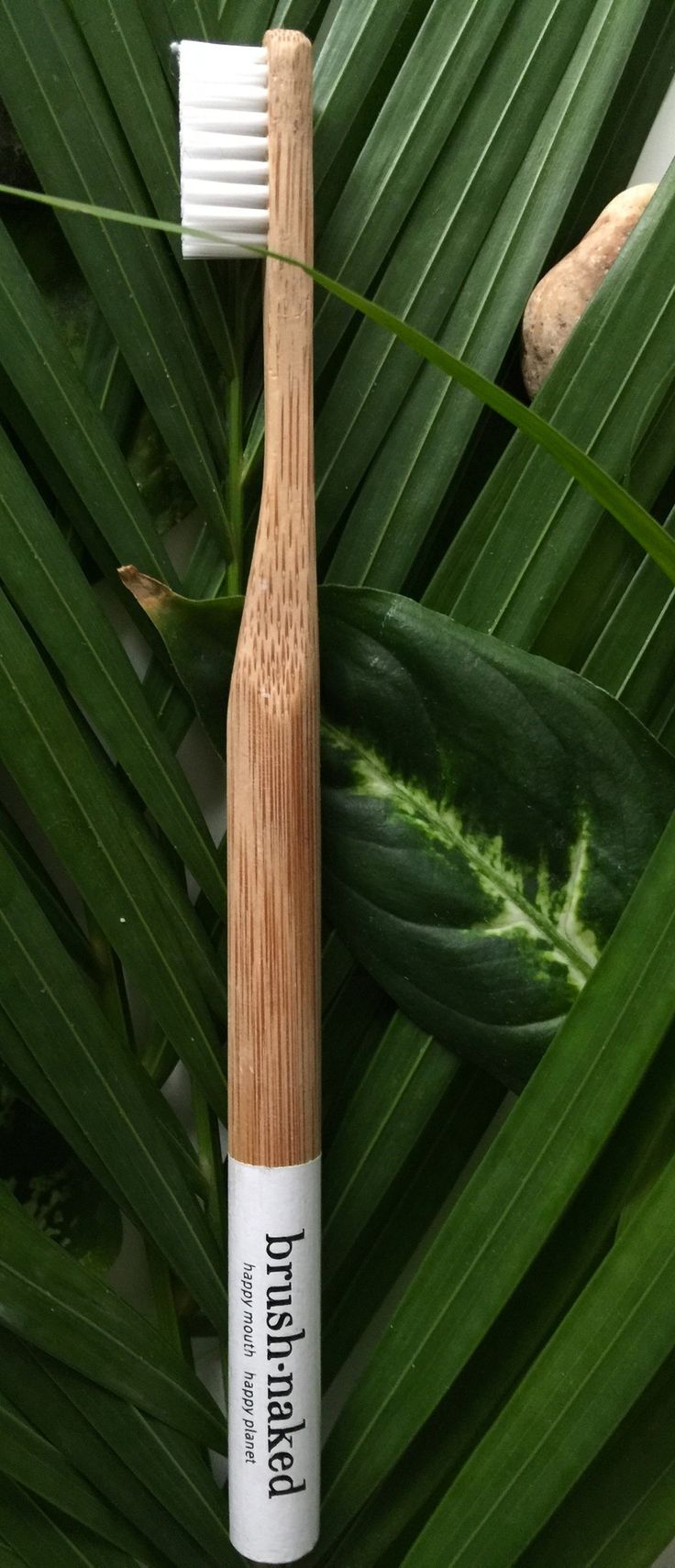 All toothbrushes have a 100% Bamboo Handle and are available in four amazing colors (pink, green, white and naked). Our toothbrushes come in a 100% Biodegradable Cello Wrap. When you order you can cho