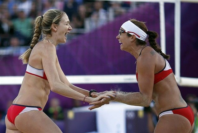 Beach Volleyball: Day 9 - Beach Volleyball Slideshows | NBC Olympics